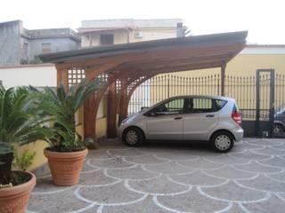 RicreArt - Italmaxitetto Mediterranean style garage/shed