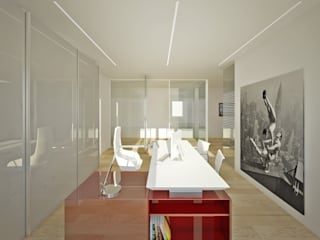 M A+D Menzo Architettura+Design Study/officeDesks