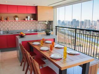 JULIANA MUCHON ARQUITETURA E INTERIORES Balkon, Veranda & TerasAksesuarlar & Dekorasyon