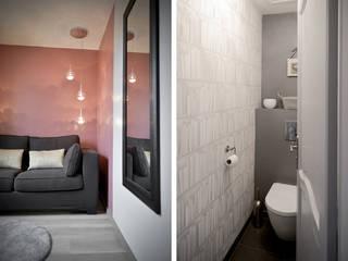 Aménagement et décoration de chambres à Lentilly Marion Lanoë Chambre moderne