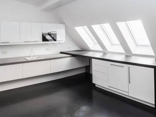 Küche SchwarzWeiß 02:   von Tischler Benjamin Scherz