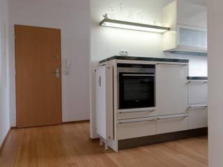 Bambus Stabparkett in Küche und Bad Moderne Küchen von Bambus Komfort Parkett Modern