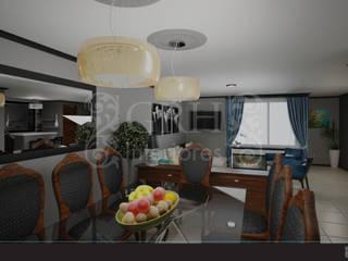 Eklektik Yemek Odası GRH Interiores Eklektik