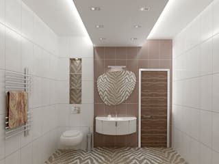 Industrial style bathroom by ООО 'Студио-ТА' Industrial