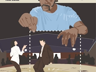 Pulp Fiction:  de style  par Minuscule Motion