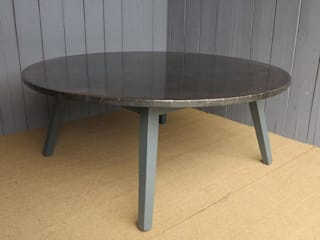 Bespoke Copper Tables by UKAA UKAA | UK Architectural Antiques KitchenTables & chairs