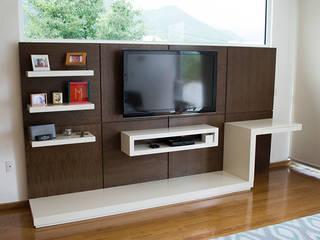 Muebles Multimedia MADERISTA Sala multimediaMuebles Madera Acabado en madera