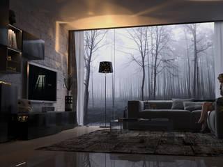 winter living Soggiorno moderno di dellaschiava Moderno