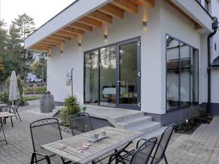 ROG - Zubau Restaurant Rosengarten:  Gastronomie von eibensteiner architektur