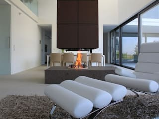 Minimalist living room by ofenmanufaktur. meisterbetrieb Minimalist