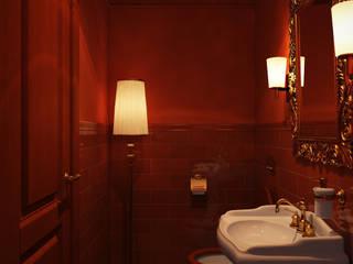 Eclectische badkamers van ART-INTERNO Eclectisch
