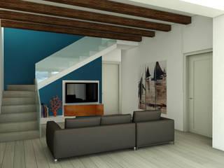 Soggiorno: Soggiorno in stile  di MK Designer Studio | Project & 3D ArchViz