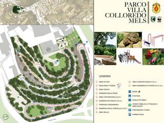 PLANIMETRIA GENERALE DEL PARCO:  in stile  di Studio Tecnico S.C.S.