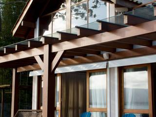 Espaço do Traço arquitetura Rustic style house