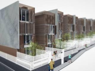 Casas de estilo  por Nau Architetti