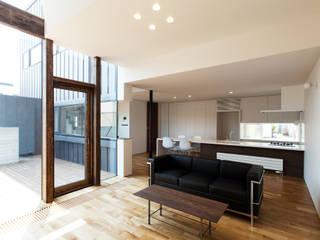 모던스타일 거실 by 一級建築士事務所 Atelier Casa 모던