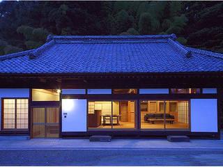 ファサード夜景 オリジナルな 家 の 松井建築研究所 オリジナル