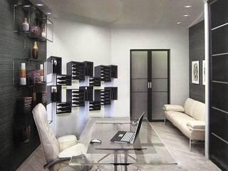 Mobile portabottiglie Esigo 5 Floor: Soggiorno in stile in stile Moderno di Esigo SRL