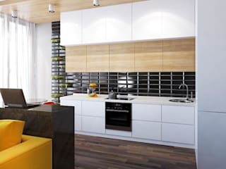 Minimalist kitchen by UKRINTEL Minimalist
