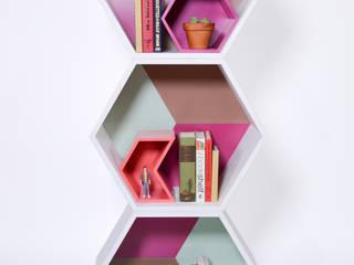 PANAL by APOTEMA: Oficinas y tiendas de estilo  por APOTEMA Estudio de Diseño
