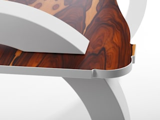 Palisander Tisch:   von Tischler Benjamin Scherz