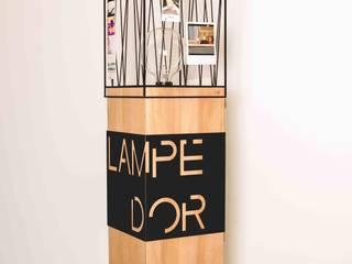 Lampe d'or:  de style  par indoor-concept
