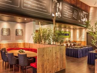 Restaurant im Kino in Nürnberg Karl Architekten Mediterrane Gastronomie