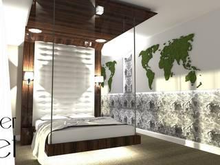 Pracownia projektowa Atelier Lillet Modern style bedroom