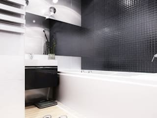 Industrial style bathroom by PLANiUM Industrial