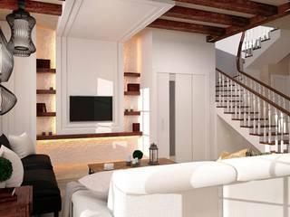 Salon colonial par GM-interior Colonial