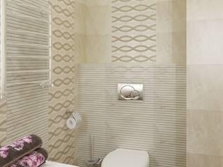 Квартира ЖК «Парк-холл Горький»: Ванные комнаты в . Автор – UKRINTEL