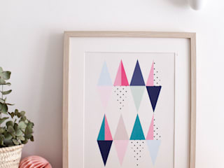 Poster Trigone par Green and Paper Scandinave