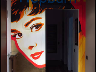 Audrey Hepburn di tiziano colombo Moderno