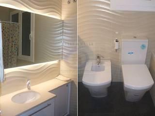 Casas de banho  por Reyes & Reyes reformas y servicios