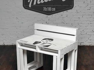 Biurko Audrey/ Audrey Desk 70x100 od Tailormade Furniture Skandynawski