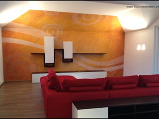 casa privata a Bellinzona di tiziano colombo Moderno