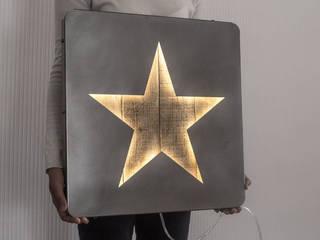 LED-Lichtwand Star:   von DesignAtelierArticle