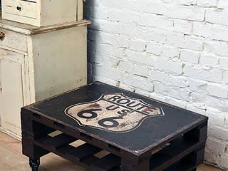 Stoliki kawowe LOFT/ LOFT coffee tables 60x80 od Tailormade Furniture Industrialny