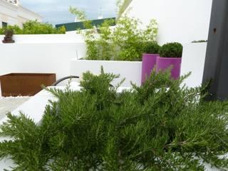 Terrazas de estilo  por Ángel Méndez, Arquitectura y Paisajismo, Minimalista