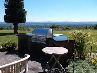 Outdoor Kitchens and BBQ Areas de Design Outdoors Limited Moderno