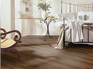SUELOS Y PAREDES SIN OBRAS Rustic style bedroom