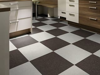 SUELOS Y PAREDES SIN OBRAS Classic style kitchen