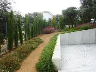 Mediterraner Garten von Ángel Méndez, Arquitectura y Paisajismo Mediterran