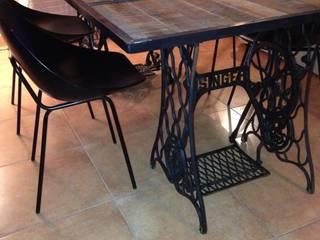 Table à dîner par Lilou de la palette Industriel
