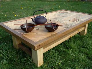 TABLE ZEN par boisetrecup la palette revisitée Rustique