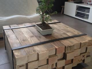 Table basse par Lilou de la palette Industriel