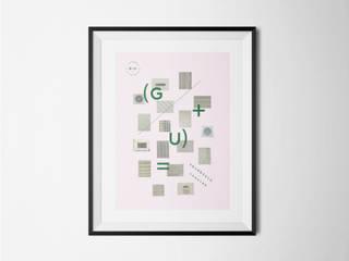 GEOMÉTRIE URBAINE:  de style  par About - Atelier graphique