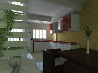 by JRK Diseño - Studio Arquitectura Modern
