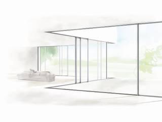 Eine Marke von Solarlux Moderne Fenster & Türen von cero Modern