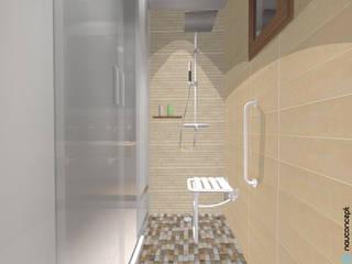 Bath 141: Salle de bains de style  par nauconcept
